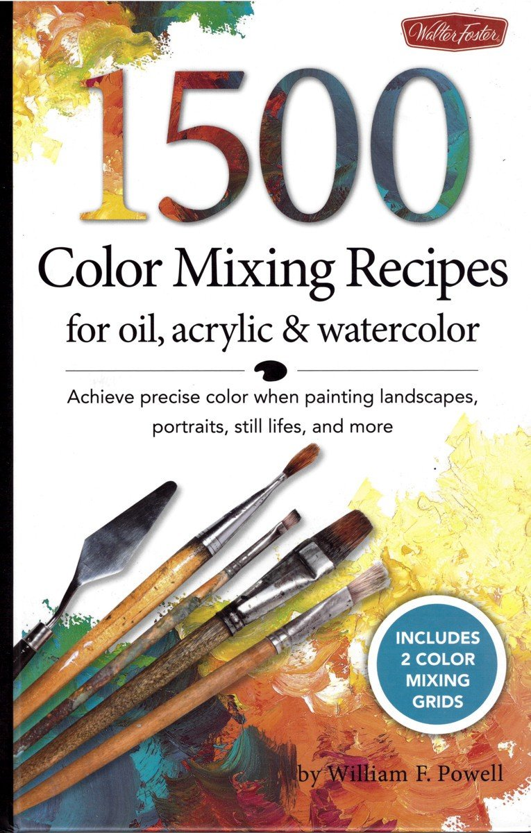 Book Cover Watercolor Mixing ~ Painting books