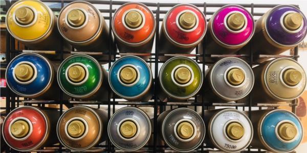 Montana Gold Acrylic Professional Spray Paints Metallic Transparent