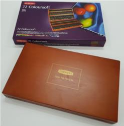 Derwent Coloursoft Wooden Box Pencil Set Of 72