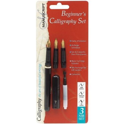 Manuscript Calligraphy Set Beginner 39 S Size 3