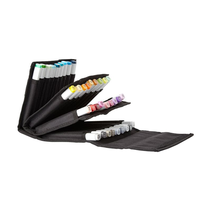 Details About Copic Marker Wallet Holds 36