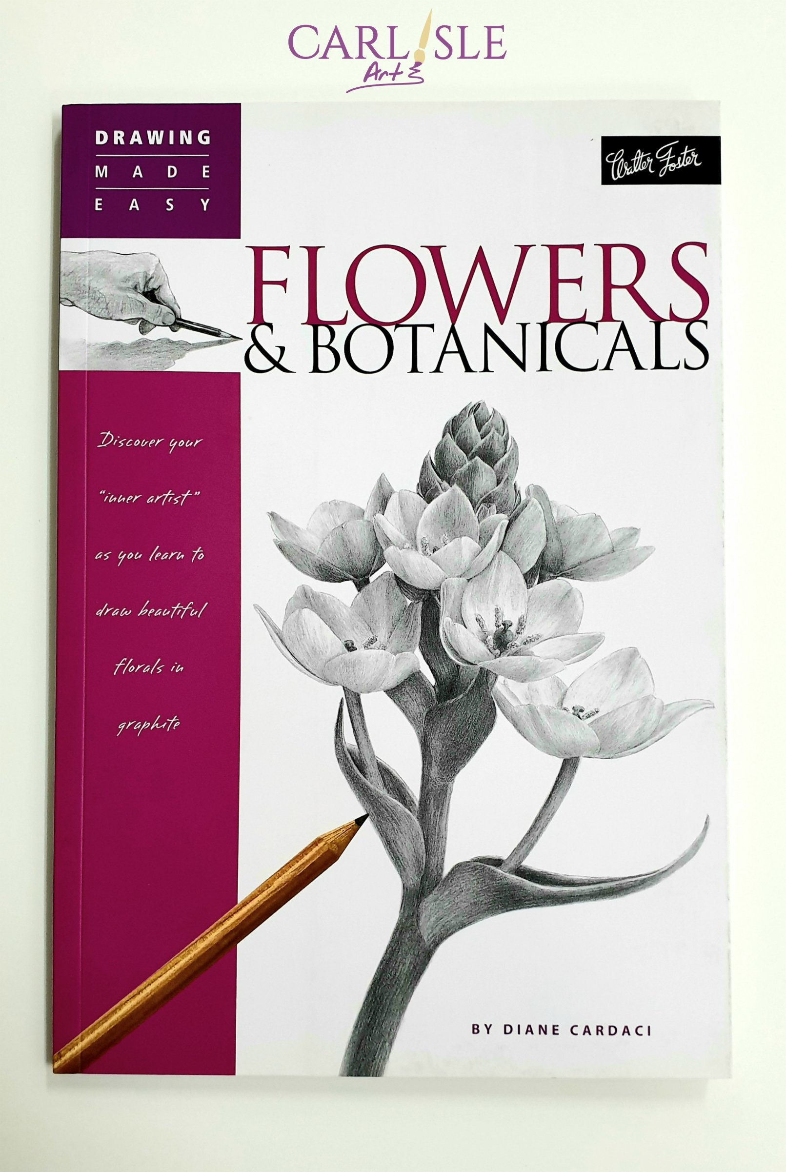 Details about Drawing Made Easy Flowers \u0026 Botanicals